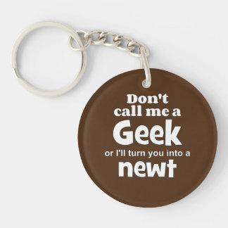 Geek newt wf Single-Sided round acrylic key ring