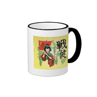 Geisha Ringer Mug