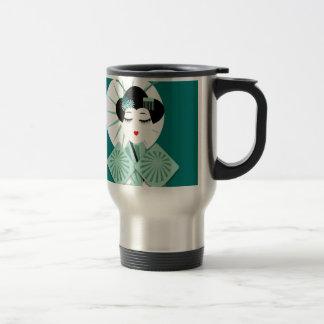 Geisha Stainless Steel Travel Mug