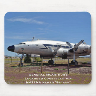 General McArthur's Lockheed Constellation N422NA Mouse Pad