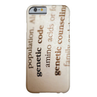 Genetic code and genetic counseling definitions barely there iPhone 6 case