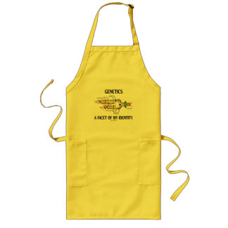 Genetics A Facet Of My Identity (DNA Replication) Long Apron