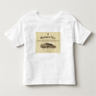 Geological Atlas Title Page Tee Shirt