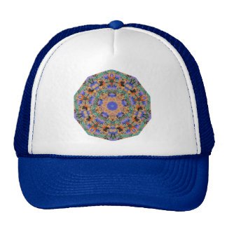 Geometric Pattern 10 - Add your own text Cap