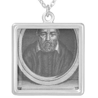 George Buchanan, engraved for Universal Magazine Square Pendant Necklace