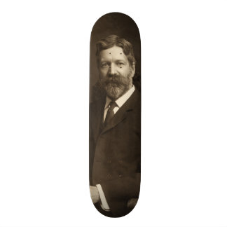 George Foster Peabody by the Pach Brothers Custom Skate Board