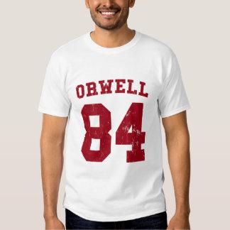 George Orwell 84 1984 jersey T-shirts