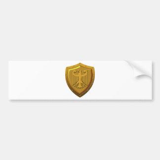 German Eagle Shield Bumper Sticker