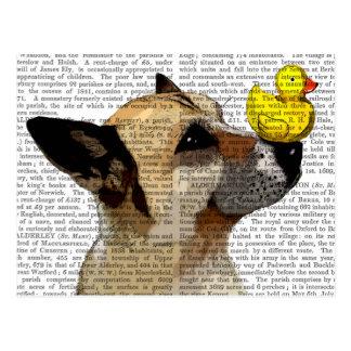 German Shepherd Dog and Duck Postcard