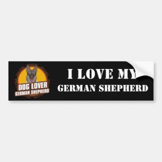 German Shepherd Dog Lover Bumper Sticker