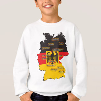 Germany Map T-shirts