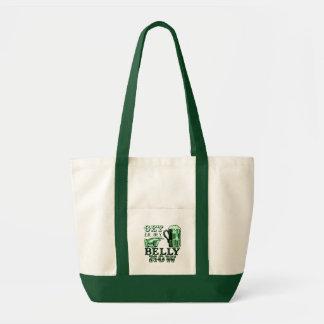 Get in My Belly Now Fun St Patricks Day Tee Impulse Tote Bag