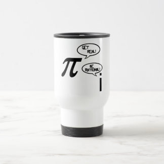 Get Real Stainless Steel Travel Mug