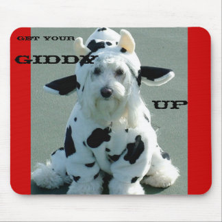 GET YOUR, GIDDY, UP MOUSE PAD