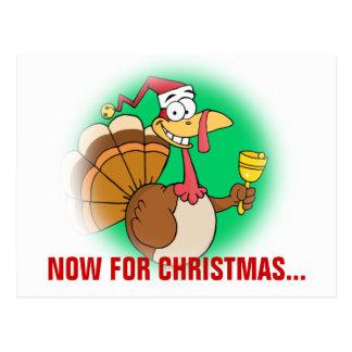Getting Through the Holiday Season to Christmas Postcard