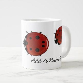 Giant Ladybug Jumbo Mug