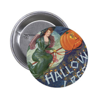 Gibson Witch 6 Cm Round Badge