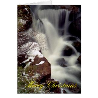 Gillman Falls in Winter Greeting Card