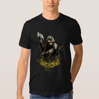 Gimli With Ax Vector Collage T Shirts