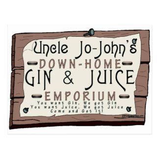 GIN & JUICE POSTCARD