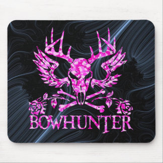 GIRL BOWHUNTER MOUSE PAD