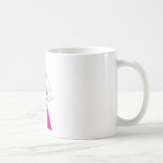 Girl In Sundress Basic White Mug