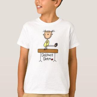Girl on Balance Beam Tee Shirt