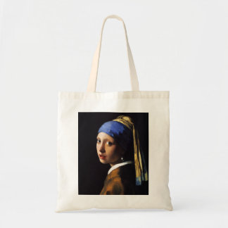 Girl with a Pearl Earring Tote Bag
