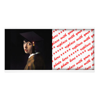 Girl with the Graduation Hat (Pearl Earring) Photo Cards