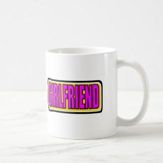 Girlfriend Basic White Mug