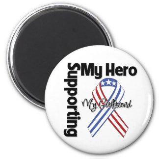 Girlfriend - Military Supporting My Hero 6 Cm Round Magnet