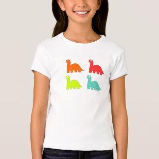 Girls Colorful Dinosaur Shirt