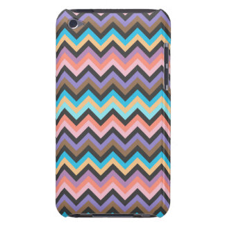 Girly Multicolor Chevron Pattern iPod Touch Case-Mate Case