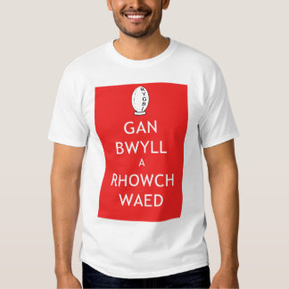 Give Blood Rugby (Welsh) Tshirt