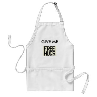GIVE ME FREE HUGS STANDARD APRON
