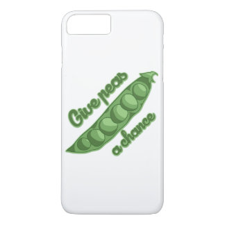 Give  peas a chance iPhone 7 plus case