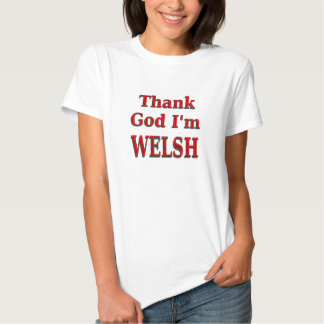 glad to be Welsh T Shirts