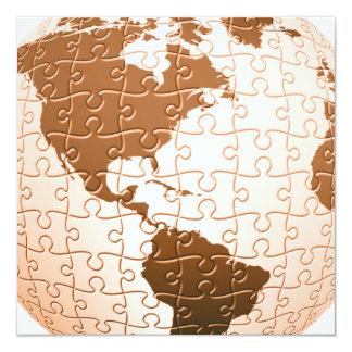 Global Puzzle Invitations