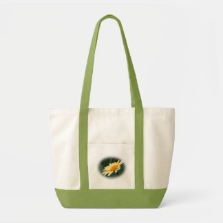 Glorious Daisy Flower Photo Canvas Tote Bag