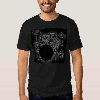glowing drumz tshirt