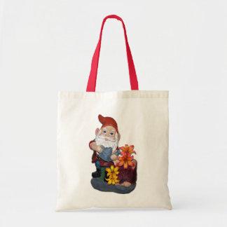 Gnome Photo Design Budget Tote Bag