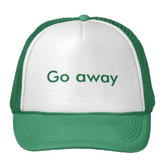 Go away cap
