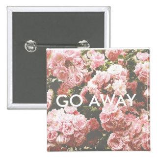 Go Away Cute Button