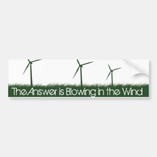 Go Green, Go Clean, Go Renewable Bumper Sticker