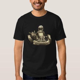 Go Kart Racer Antiqued T-shirt