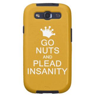 GO NUTS custom color Samsung case
