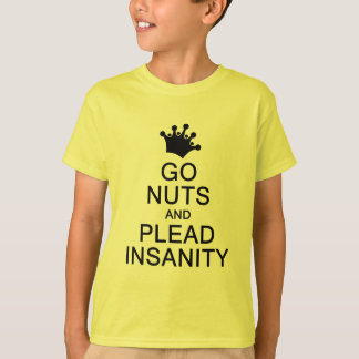 GO NUTS shirt - choose style & color