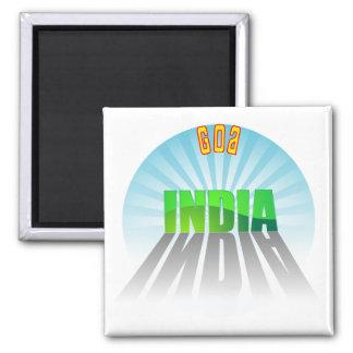 Goa Square Magnet