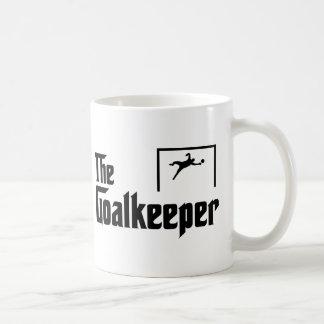 Goalkeeper Basic White Mug