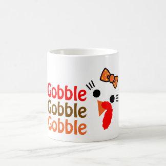 Gobble, Gobble, Gobble Basic White Mug